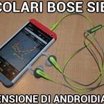 Auricolari sportivi Bose SIE2: la recensione di Androidiani.com