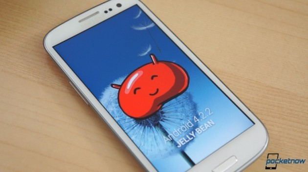 Samsung Galaxy S III: walkthrough del firmware Android 4.2.2 Jelly Bean