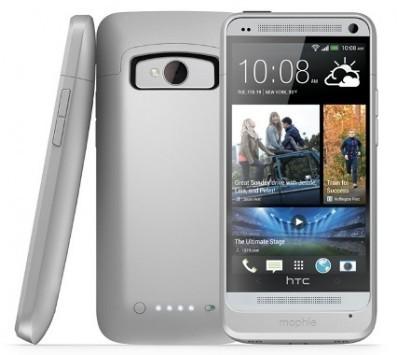 Mophie Juice Pack, case più batteria per raddoppiare l'autonomia di HTC One