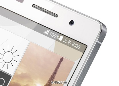 Huawei Ascend P6: una nuova immagine mostra un design simile all'iPhone 5