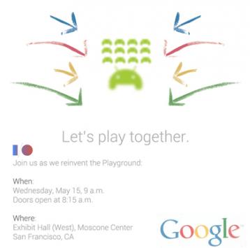 Let's Play Togheter: lo slogan che indica il possibile annuncio del Game Center al Google I/O