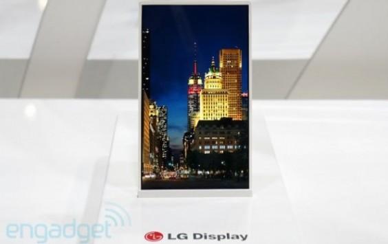 LG presenta un display HD da 5 pollici con cornice di 1 solo millimetro
