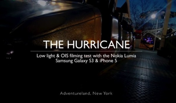 Nokia Lumia 928 vs Samsung Galaxy S III vs iPhone 5: confronto video con luce scarsa
