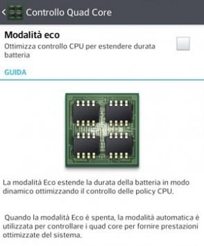 LG ricorda: la modalità Eco migliora l'autonomia dell'Optimus G