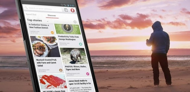 Opera Browser disponibile ufficialmente su Play Store