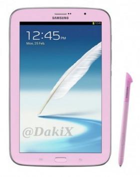 Samsung Galaxy Note 8.0: in arrivo nelle colorazioni rosa e marrone