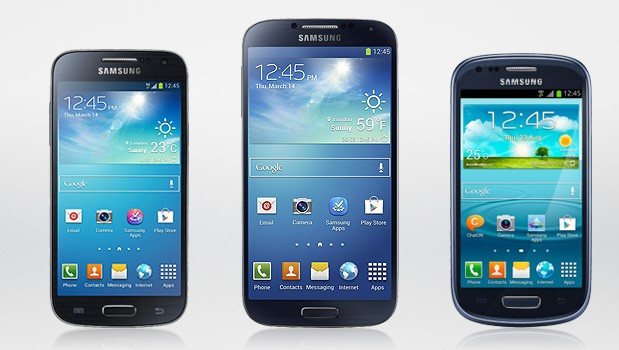 Galaxy S4 vs Galaxy S3 Mini vs Galaxy S4 Mini: un'infografica confronta dimensioni e specifiche