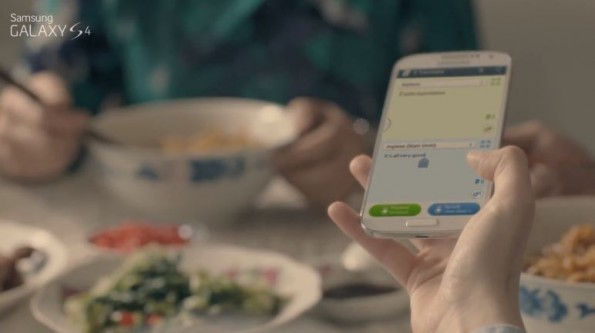 Samsung Galaxy S IV: disponibile nuovo video promozionale per S-Translator