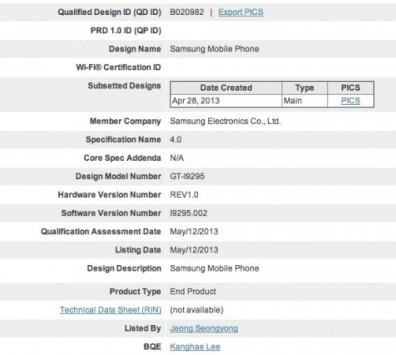 Il Samsung Galaxy S4 Active è reale: ottenuta la certificazione Bluetooth