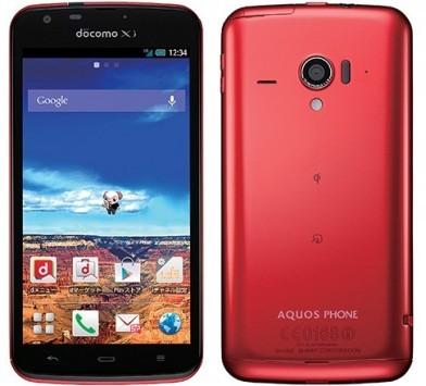 Sharp Aquos Phone Zeta SH-06E: 4,8
