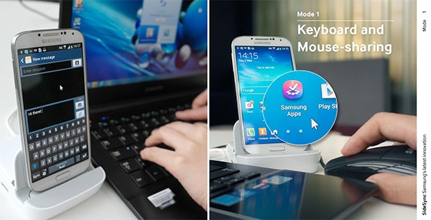 [VIDEO] Samsung illustra Sidesync, il software che unisce smartphone e PC