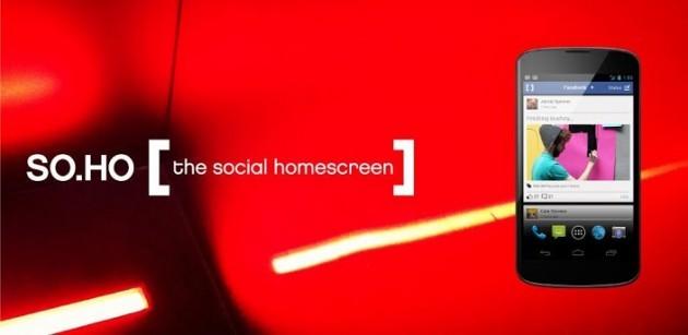 SO.HO: ecco un nuovo launcher molto social