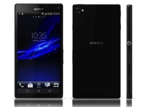 Sony C3: trapelata l'immagine del primo smartphone Sony con processore quad-core MediaTek