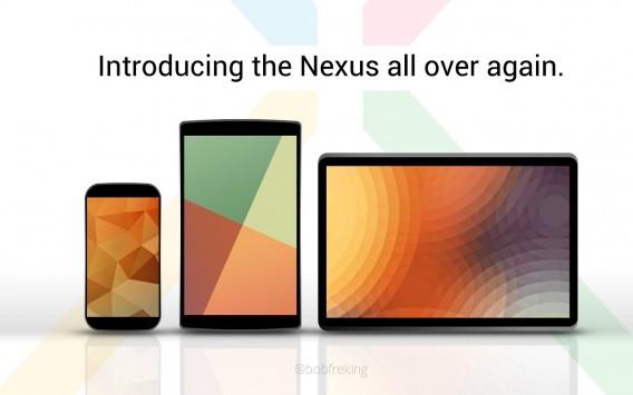 Nexus 5, Nexus 8 e Nexus 11: in attesa degli annunci, ecco tre interessanti concept