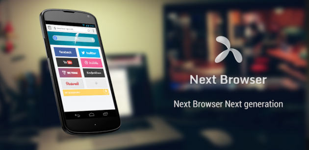 Next Browser: ecco il nuovo browser Android del Go Team