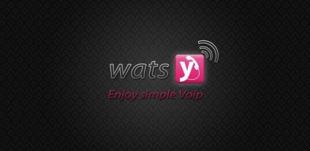 Watsy: l'app VoIP che si autoricarica