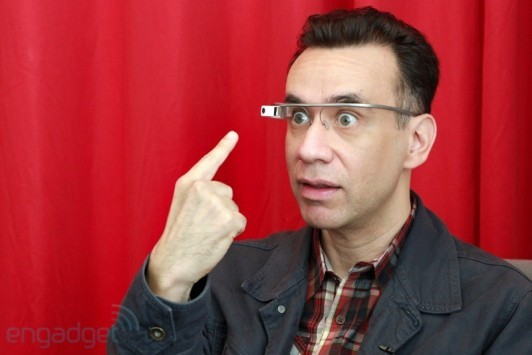 Saturday Night Live: Fred Armisen prova i veri Google Glass