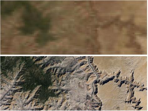 Google Earth: migliorata la qualità delle immagini satellitari e rimosse le nuvole
