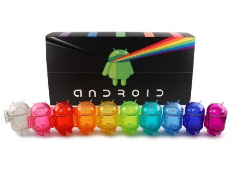 Android Mini Collectibles, ecco la nuova serie Rainbow