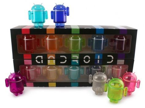Rainbow Set: ecco i nuovi Mini Android da collezione