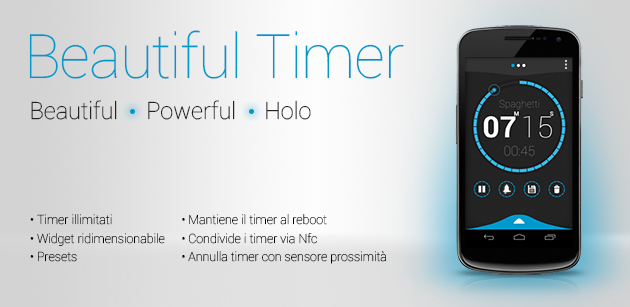 Beautiful Timer - La recensione di Androidiani.com