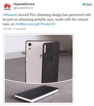 Huawei Ascend P6: ecco il video teaser e la cover metallica ufficiale