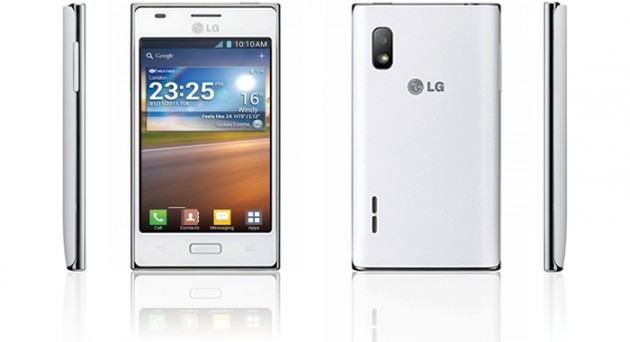 LG Optimus L5 (Vodafone): disponibile l'update ad Android 4.1.2 Jelly Bean