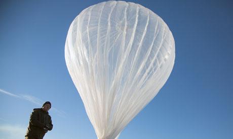 Project Loon: ecco il video dei primi palloni aerostatici di Google