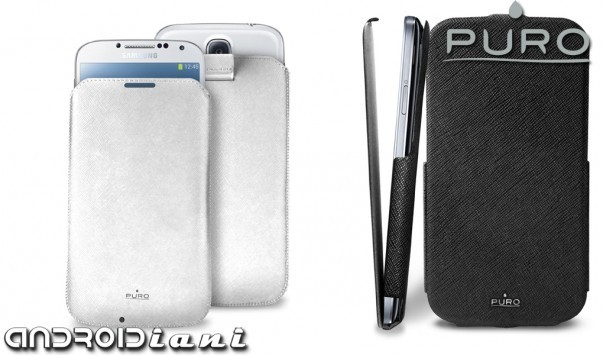 Custodia Slim Essential e Flipper per Galaxy S4 di PURO