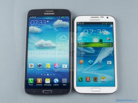 Galaxy Mega 6.3 vs Galaxy Note 2 vs Huawei Ascend Mate: ecco un interessante video confronto
