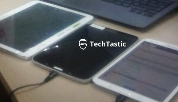 Samsung Galaxy Tab 3 8.0: eccolo in nero con bordi bianchi