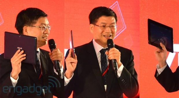 Il CEO di ASUS svela un nuovo tablet con Snapdragon, display FullHD e LTE
