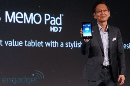 ASUS MeMo Pad HD 7: in arrivo l'update ufficiale ad Android 4.2.2 Jelly Bean
