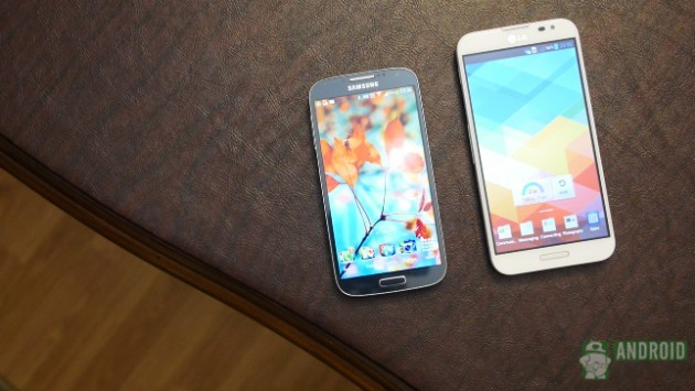 Samsung Galaxy S4 vs LG Optimus G Pro: ecco un nuovo video confronto