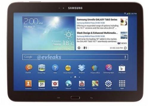 Samsung Galaxy Tab 3 10.1: trapelato nella colorazione Gold Brown