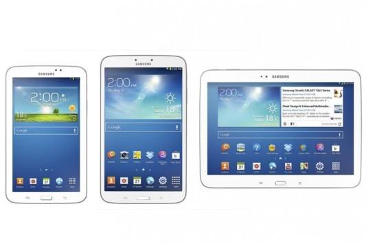 Samsung Galaxy Tab 3: svelati i prezzi per le versioni Wi-Fi