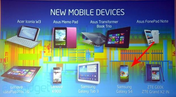 Intel svela un Samsung Galaxy S4 con processore Atom?