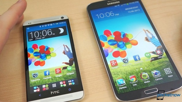 Samsung Galaxy Mega 6.3 vs HTC One: ecco un nuovo video confronto