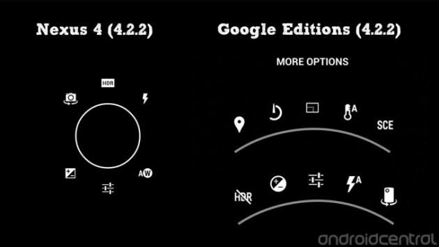 La nuova interfaccia della Fotocamera dei 'Google Edition' é ora disponibile per tutti [DOWNLOAD]