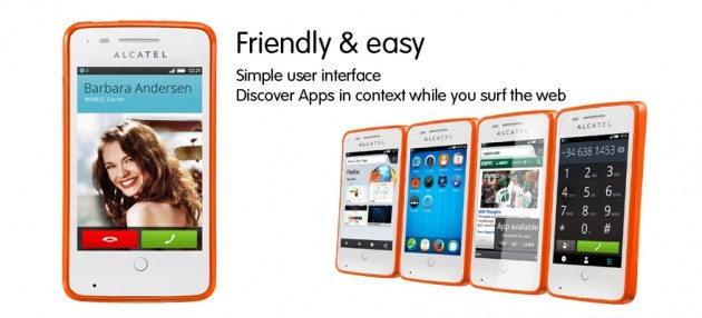 Alcatel One Touch Fire: il primo smartphone per l'Europa con Firefox OS in arrivo in estate