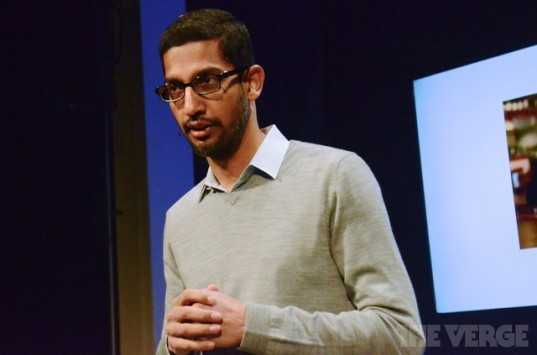 Sundar Pichai sarà presto il responsabile dei principali progetti di Google