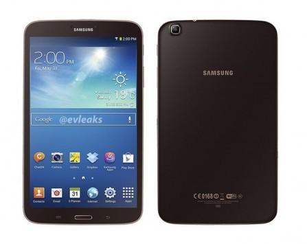Samsung Galaxy Tab 3 8.0: trapelato nel colore Gold Brown