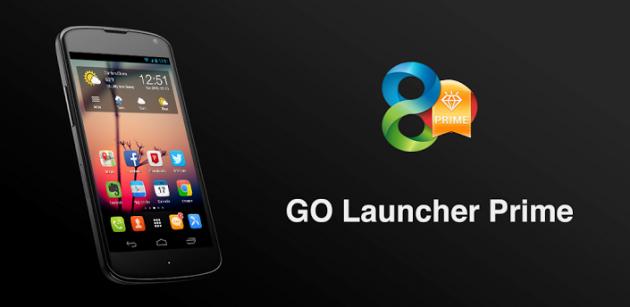 GO Launcher Prime: ecco una nuova versione del celebre GO Launcher