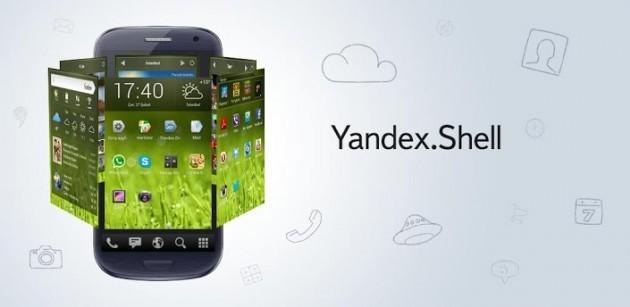 Yandex.Shell: il celebre launcher arriva anche in Italia
