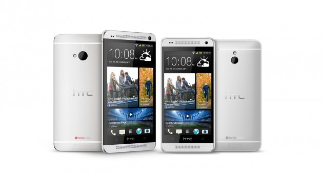 HTC One Mini: confronto dimensionale con molti smartphone