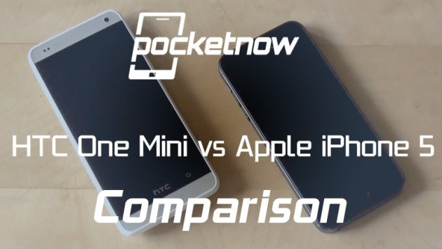HTC One Mini vs Apple iPhone 5: ecco un video confronto