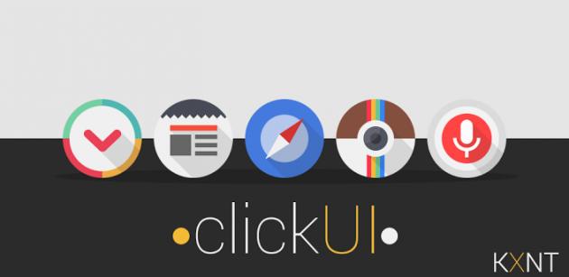 ClickUI: ecco un nuovo pacchetto di icone per i nostri dispositivi Android