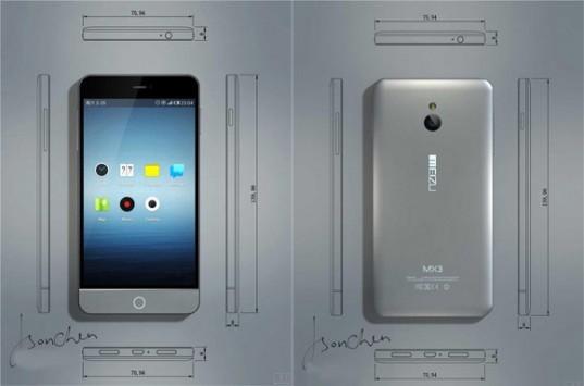 Meizu MX3: ecco le prime ipotetiche immagini del nuovo smartphone da 5.1 pollici