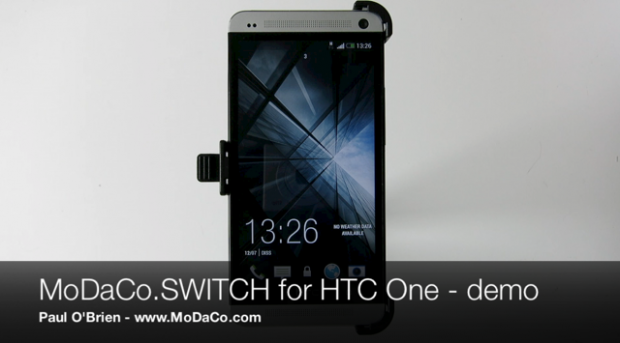 HTC One: video demo del MoDaCo.SWITCH