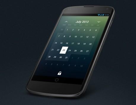 Roman Nurik al lavoro su un nuovo widget per il calendario